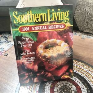 Vintage 1991 Southern Living Annual Recipes